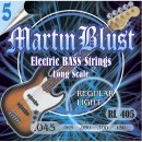 Martin Blust E-Bass Saiten RL405-5 Regular Light -...