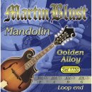 Martin Blust Mandolin Strings Set 1750 Golden Alloy
