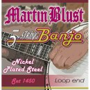 Martin Blust Tenor Banjo Strings Set 1450 - 5 Strings